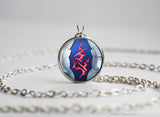 Lancer Fate Stay Night Comand Seal necklace