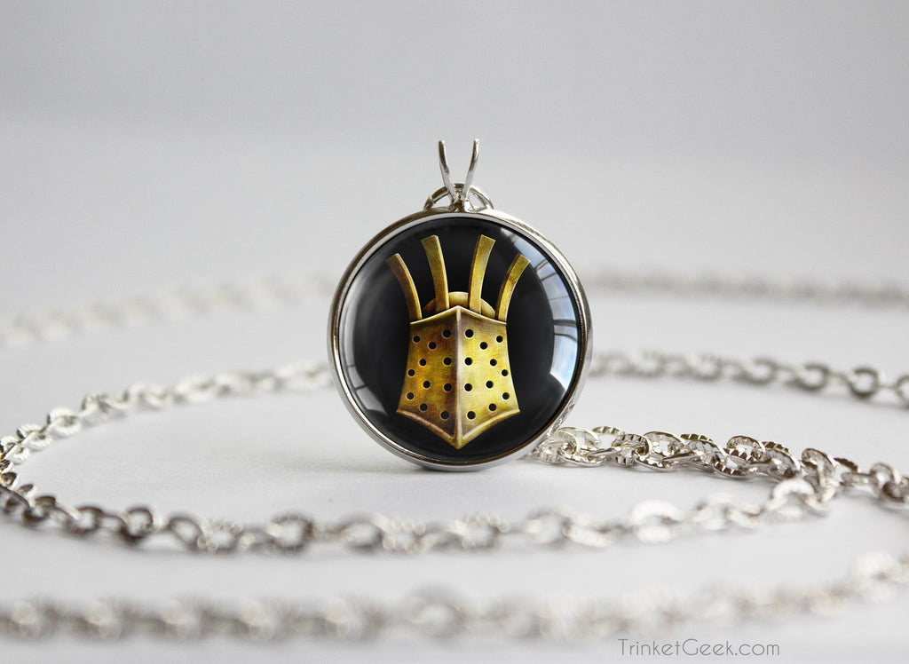 Dark Souls helm necklace The Embraced Knight Lautrec of Carim