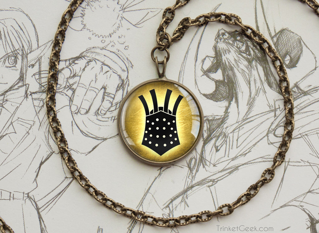 Dark Souls symbol necklace The Embraced Knight Lautrec of Carim