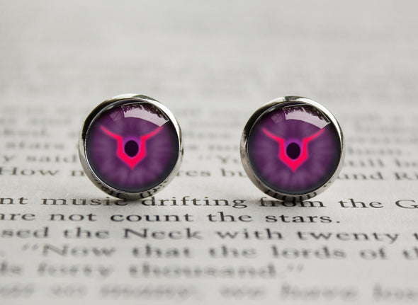 Code Geass symbol Lelouch eyes Earrings