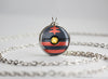 Litten Pokemon Alola Starter Themed Pokeball pendant