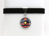 Litten Pokemon Pokeball Choker Necklaces