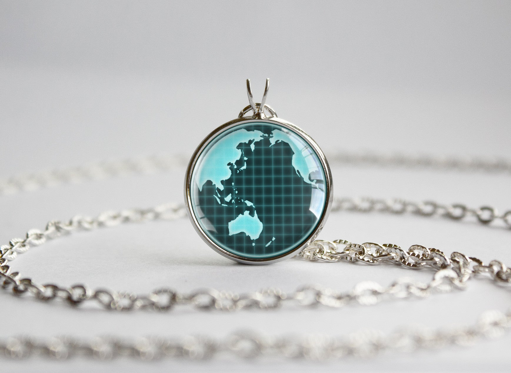 Log horizon pendant computer grid globe world map trinket geek log horizon pendant computer grid globe world map gumiabroncs Image collections