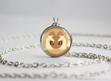 Lopunny Pokemon Chibi Portrait necklace