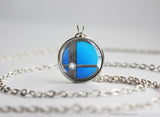 Super Smash Ball Lucario necklace
