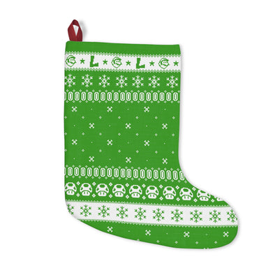 Luigi Christmas Stocking