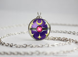 Pokemon Sun and Moon Lunara necklace