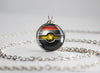 Pokemon Pokeball Luxury Ball Necklace Pendant