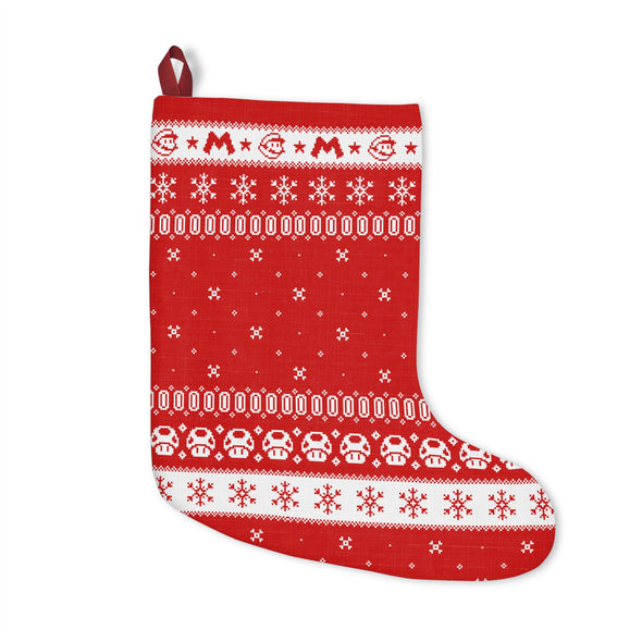 Mario Christmas Stocking