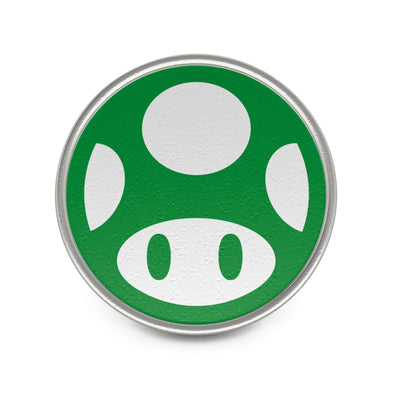 Mario Green Mushroom Pin Badge