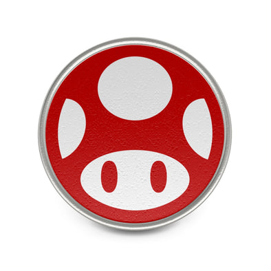 Mario Red Mushroom Badge