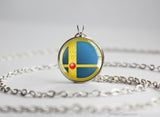 Super Smash Ball Marth necklace