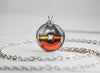 Camerupt Mega Pokemon Themed Pokeball Pendant