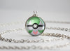 Pokemon Mega Gardevoir Themed Pokeball Pendant