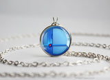 Super Smash Ball Mega Man necklace