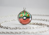 Pokemon Mega Sceptile Themed Pokeball Pendant