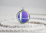 Super Smash Ball Meta Knight necklace