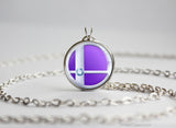 Mewtwo Super Smash Ball necklace