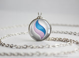 Pokemon Mewtwo Mewtwonite X Mega Stone Pendant Necklace
