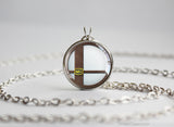 Super Smash Ball Mii Fighter necklace