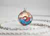 Pokemon Milotic Themed Pokeball Pendant