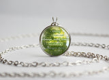 Zelda pendant Minuet of Forest quotation