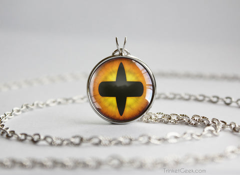 Naruto Uzumaki Tailed Beast Sage Eye necklace