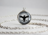 Thrones necklace Night's Watch crow sigil