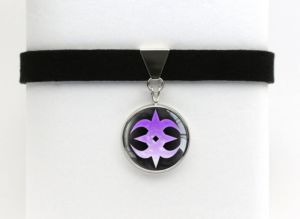 Fire FE Fates Nohr Emblem Choker Necklace