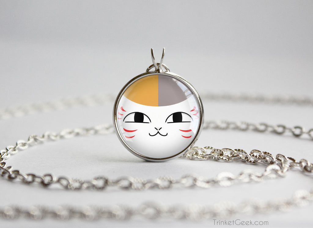 Natsume Yuujinchou book of friends Madara Nyanko Sensei necklace