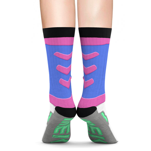 Dva cosplay socks