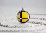 Super Smash Ball Pac-Man necklace