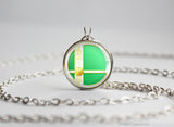 Super Smash Ball Palutena necklace