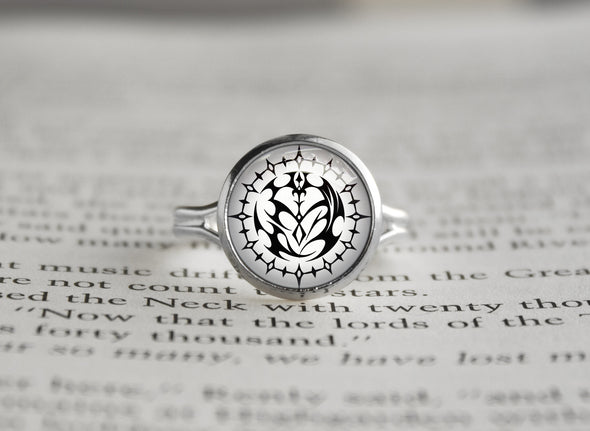 Pandora Hearts silver ring Contract Seal