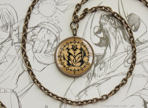 Pandora Hearts Contract Seal Vintage style Pendant Necklace