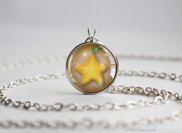 KH Kingdom Hearts pendant Paopu Fruit