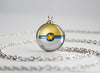 Pokemon Pokeball Park Ball Necklace Pendant