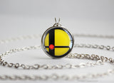 Super Smash Ball Pikachu necklace