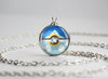 Piplup Pokemon Sinnoh Starter Themed Pokeball pendant