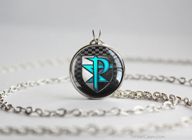 Pokemon necklace Team Plasma Black