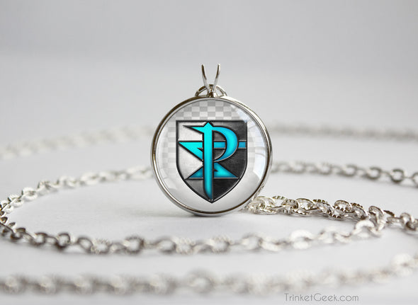 Pokemon Necklace Team Plazma White