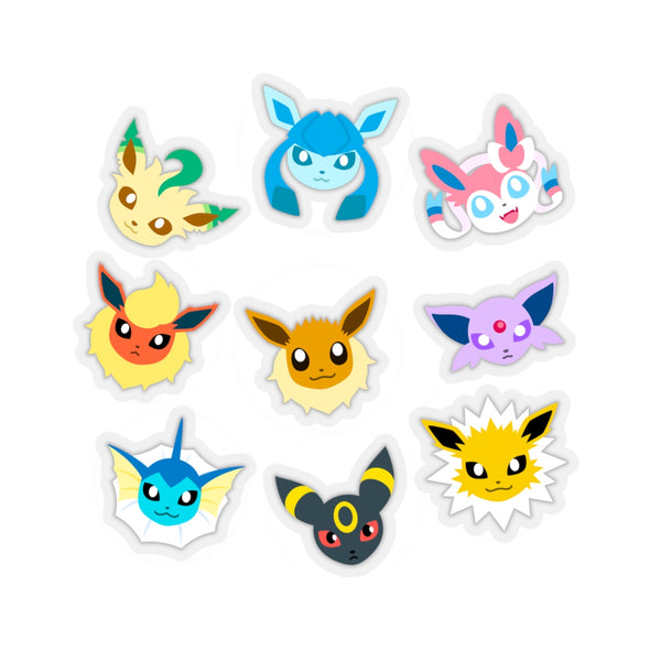Pokemon Eeveelutions Eevee Pokemon Stickers