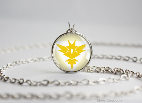 Pokemon GO team Instinct Necklace