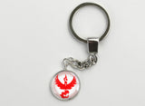 Pokemon GO Team Valor Symbol Key Chain