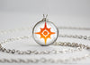 Pokemon Sun and Moon Emblem pendant