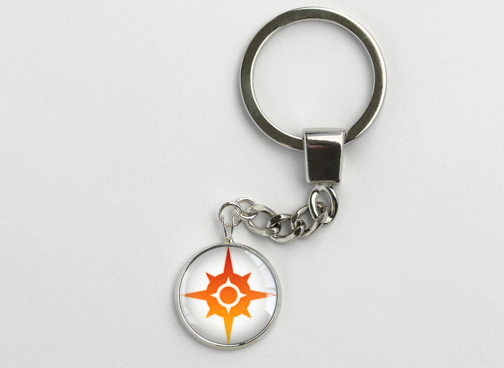PKMN Alola Sun and Moon Emblem Key Chains