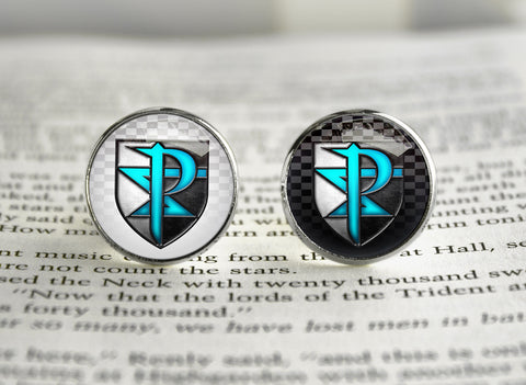 Pokemon Cufflinks Team Plasma symbol