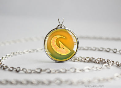 Pokemon necklace dragon type symbol