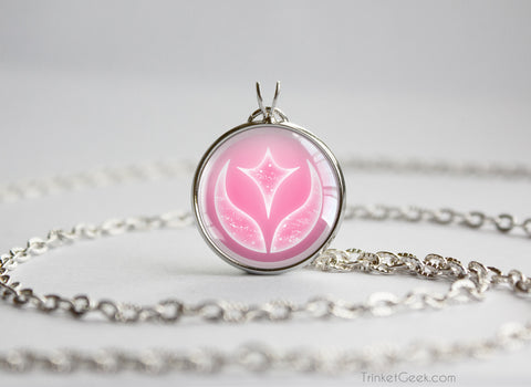 Pokemon necklace fairy type symbol