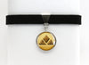 Ground Type Symbol Pokemon Choker Necklaces